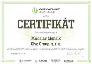 Certifikát Apache