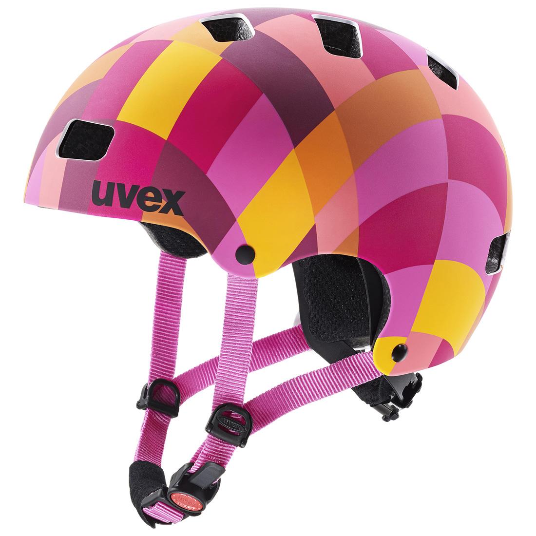 UVEX KID 3 CC RED CHECKERED 2020