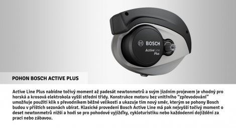 Elektrokolo APACHE MATTO BOSCH ACTIVE PLUS 500 BLACK 2020
