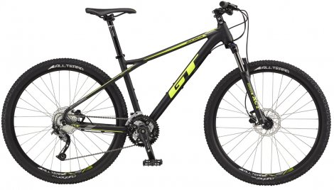 GT AVALANCHE SPORT BLACK/NEON YELLOW 2017 - Velikost: S