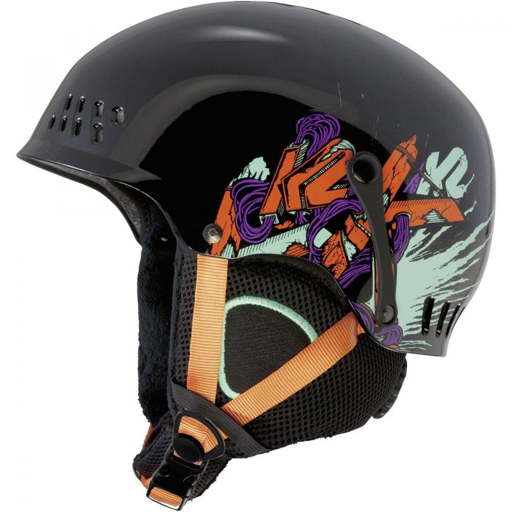Dětská helma K2 Entity black