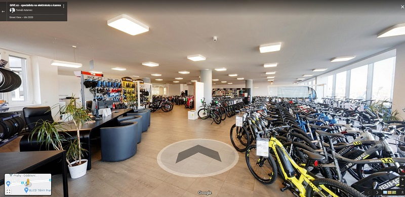 Prodejna GIVE.cz - cyklistika