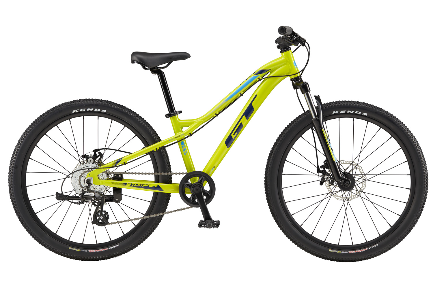 "GT STOMPER 24"" ACE YELLOW 2019"