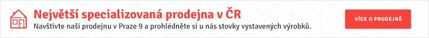 Největší specializovaná prodejna v ČR
