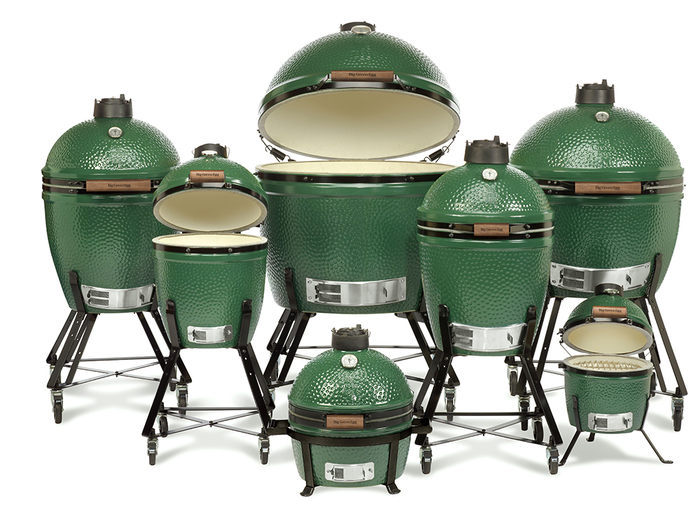 Grily Big Green Egg - 7 modelů