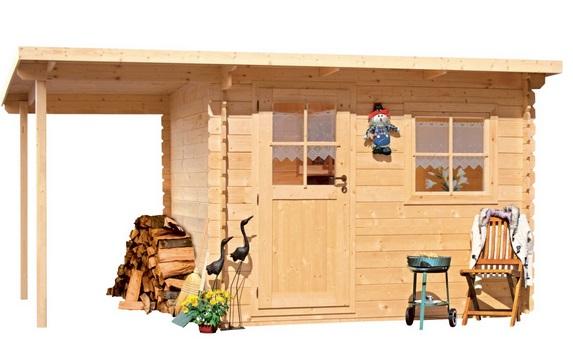 Dřevěný domek LanitPlast