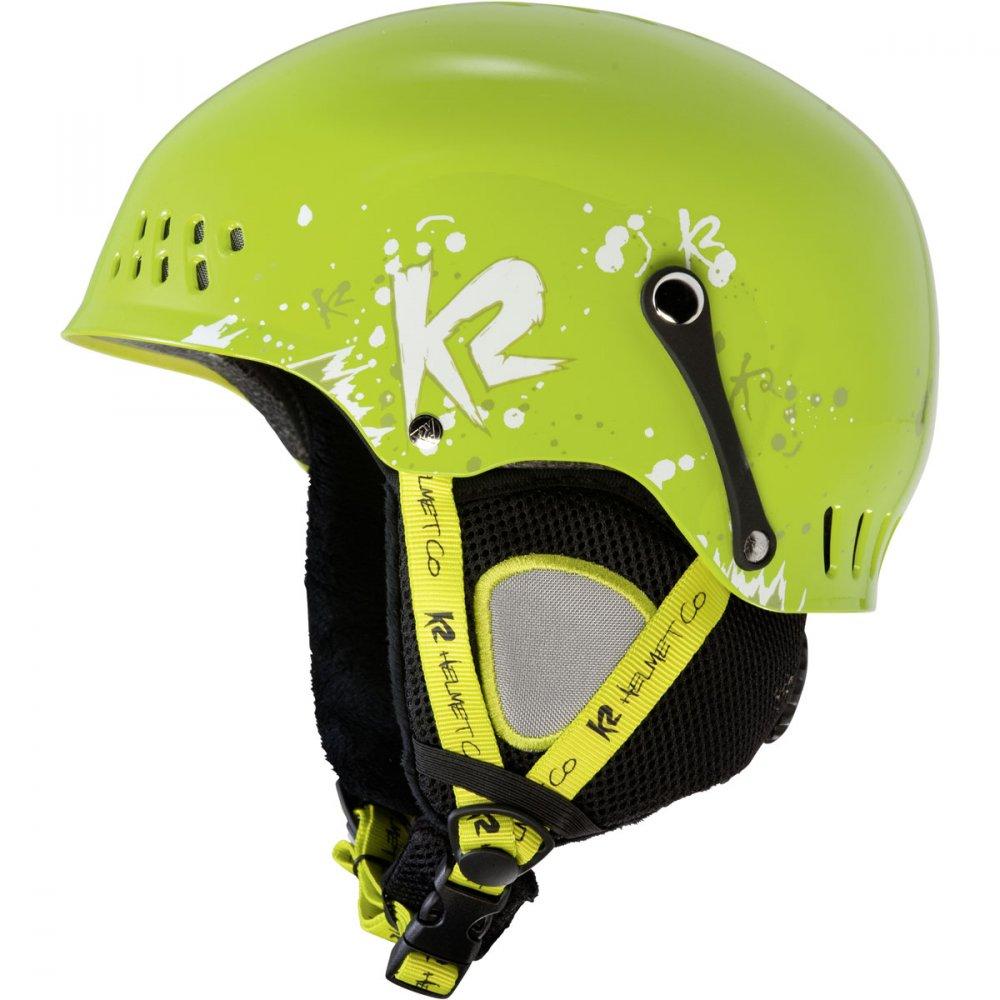 Dětská helma K2 Entity green