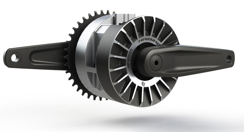 detail motoru elektrokola Flyon